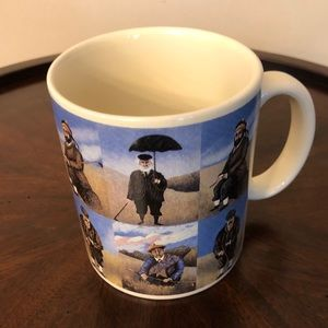 Golfers Collector Mug by Guy Bennet